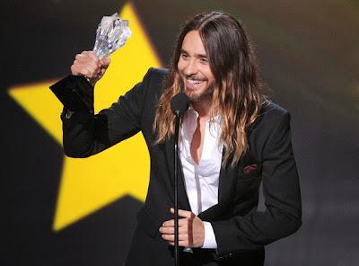 Jared Leto Critics Choice Movie Awards 2014