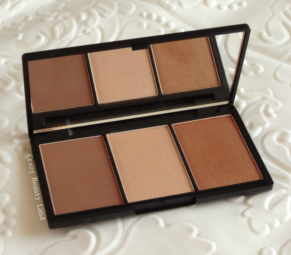 Sleek Makeup Face Form Contouring Highlight and Blush Palette in Medium 374 Review Swatches