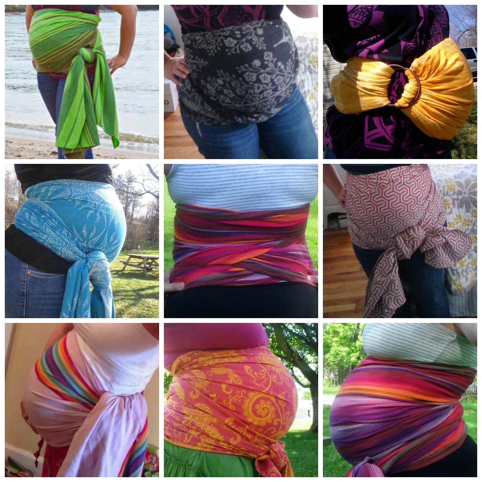 Babywearing International Of Cleveland: Belly Wrapping For