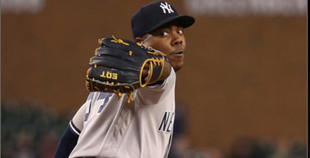 Según los cálculos por el ritmo que lleva, Chapman terminaría la zafra con 49 salvados, una marca que solo ha logrado un hombre con el uniforme de los Yankees: Mariano Rivera, quien registró 50 y 53 en 2001 y 2004, respectivamente
