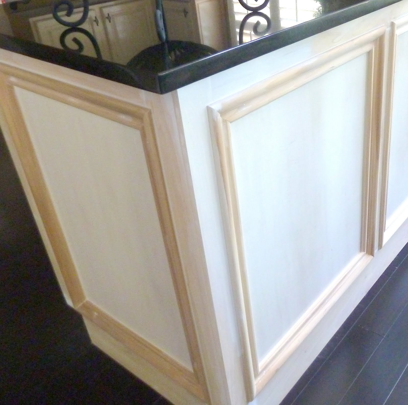 Pictures Of Molding Added To Kitchen Cabinet Doors