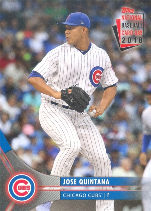 Wrigley Wax 2018 National Baseball Card Day Cubs Set