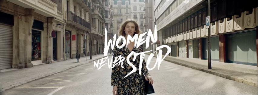 Canzone Camomilla Italia pubblicità Women Never Stop Con ragazze che corrono - Musica spot Novembre 2016