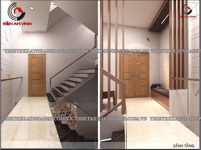 Mẫu thiết kế nhà ống 2 tầng diện tích 4x14 ở quê gia đình chị Lan Sanh-phong4