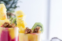 Tropical Fruit Breakfast Smoothie