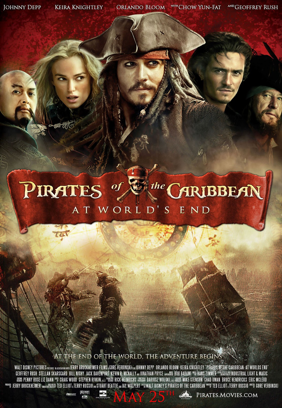"Movie Review: ""Pirates of the Caribbean: At World's End ..."