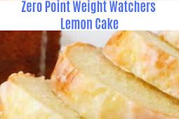 Zero point Weight Watchers Lemon Cake