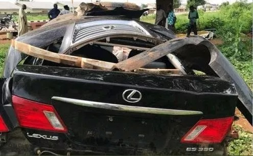 Sultan Of Sokoto's son in terrible car crash after 'getting high on codeine' (Photos)