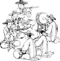 Bir grup müzisyen