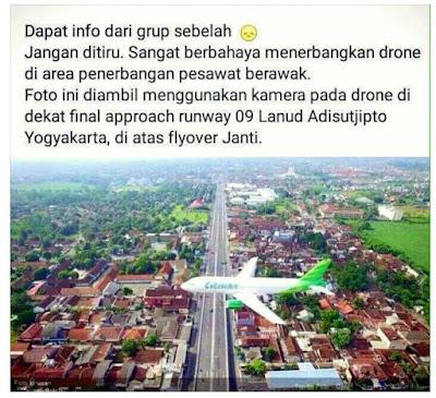 Contoh Penerbangan Drone yang Salah - GudangDrone