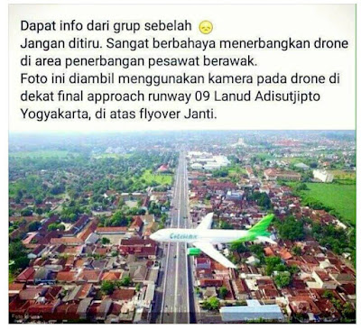 Contoh Penerbangan Drone yg Salah - OmahDrones