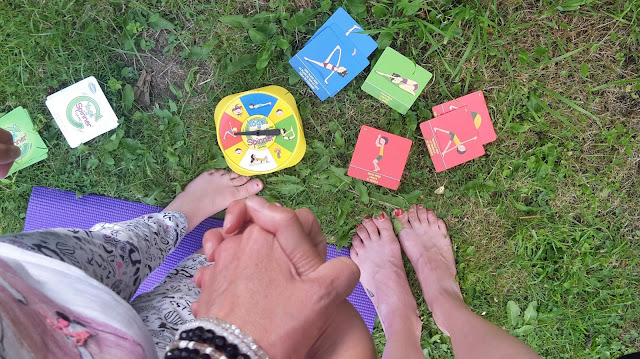 Yoga for Children {Yoga Card Games} // 76sunflowers