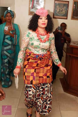 Monalisa Chinda wedding pictures
