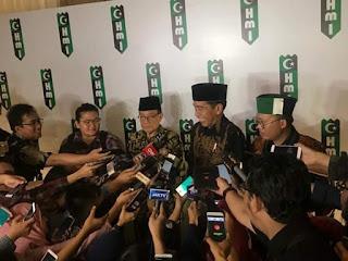Pemilu 2019, KAHMI dan PJ Ketum PB HMI Dukung Jokowi-Ma'ruf