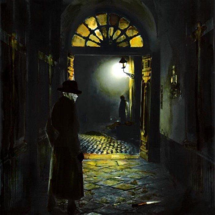 Ретро картины. Felix Aberasturi