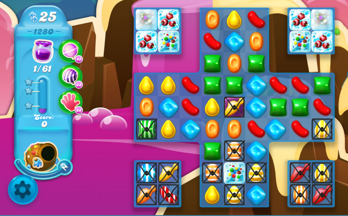 Candy Crush Soda Saga level 1280