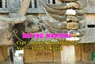 Lirik Lagu Toraja Bating Marioki (Trio El-Kasih)