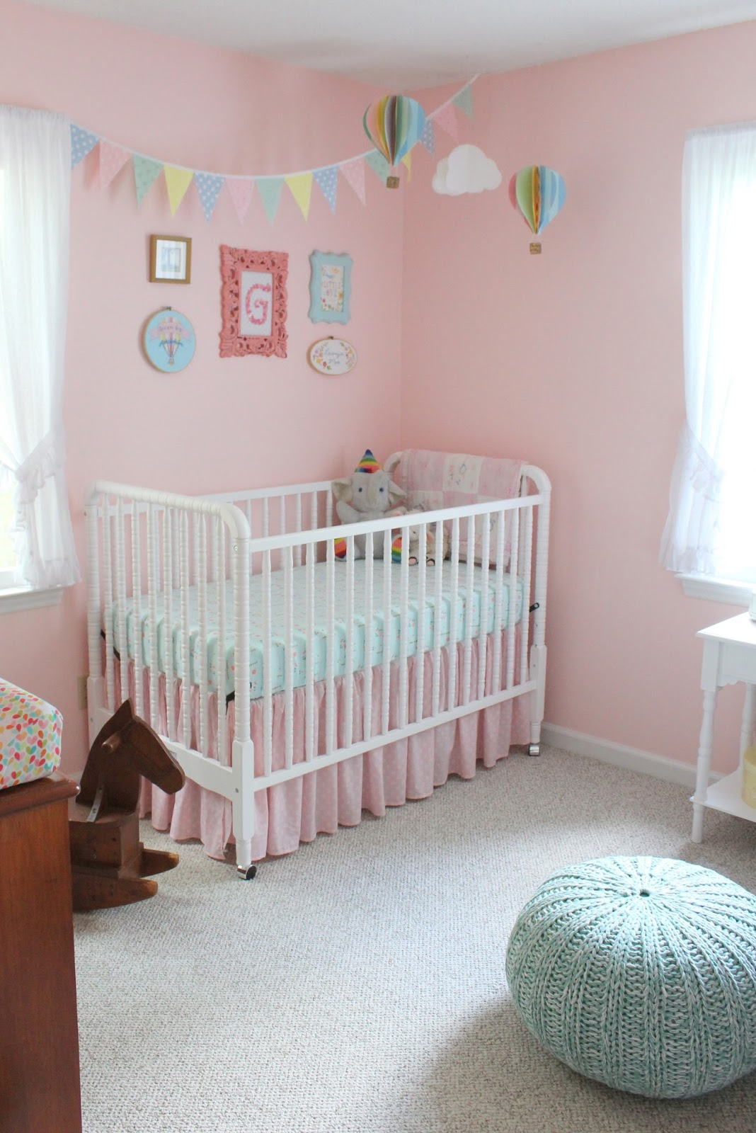 It S A Horvath S Life Baby Girl Nursery Reveal