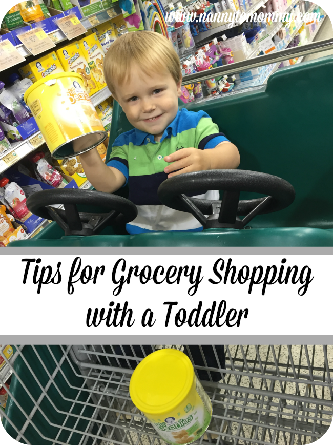Tips for Grocery Shopping with a Toddler #GerberWinWin