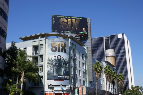 Six season 2 billboards
