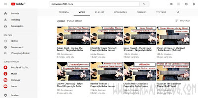 Situs Keren Untuk Belajar Main Gitar