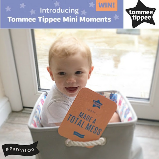 Tommee Tippee Mini Moments milestone cards giveaway as part of the Asda Baby Event #parenton