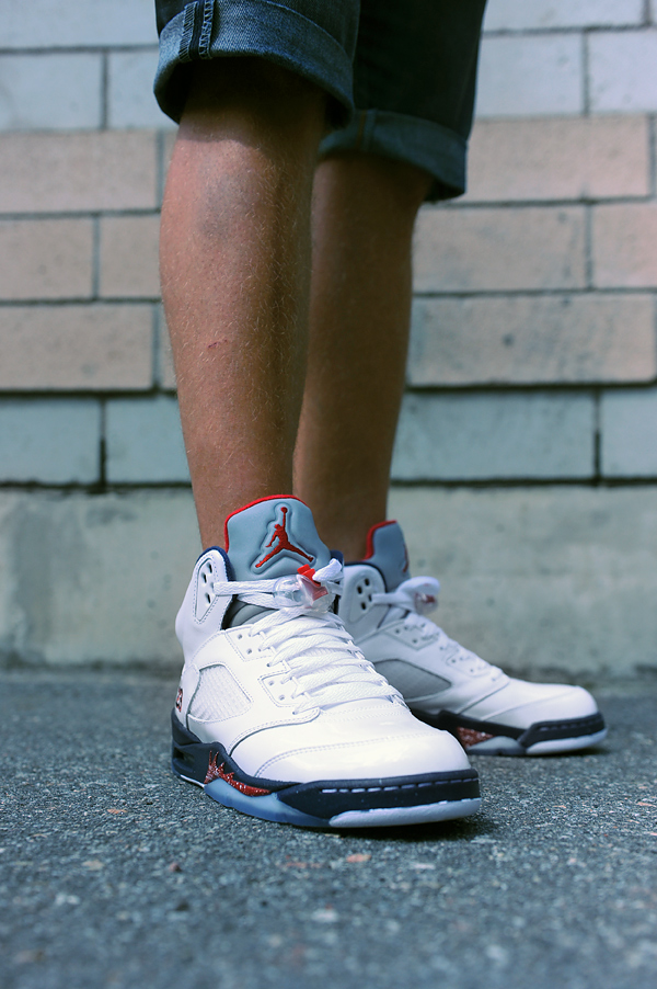 watch 2ca5e 5c006 Tommorw we will release the much sought after Jordan 5 dubbed independence  day. This shoe got it´s name for the stars and stripes inspired colorway.
