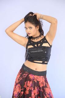 Shriya Vyas in a Tight Backless Sleeveless Crop top and Skirt 78.JPG