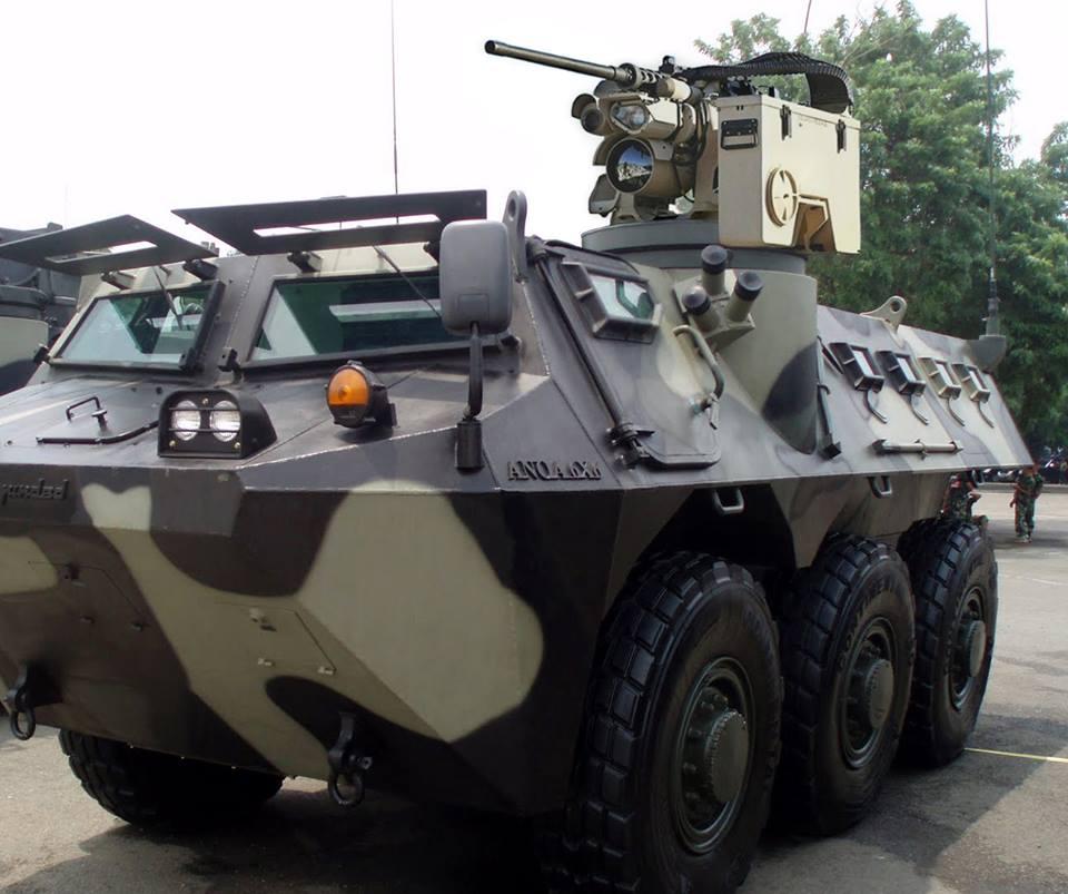Kongsberg M153 Protector, RCWS Multi Kaliber dengan ...