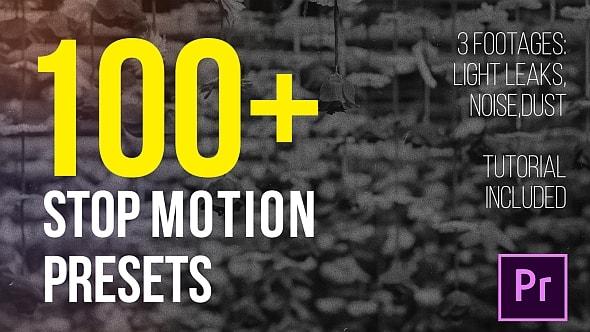 قالب ادوبي بريمير برو أزيد من 100 تأثير ستوب موشن