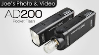 Godox AD200 Wistro Pocket Flash Unit - Preview & My Thoughts & Opinion