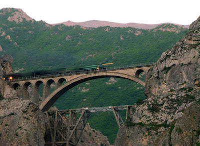 Hirsotircal Veresk  bridge in the north of Iran.