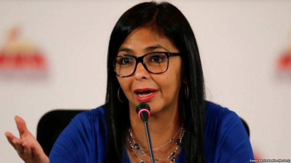 Rodríguez es presidenta de la Asamblea Constituyente que suplió al Legislativo / REUTERS