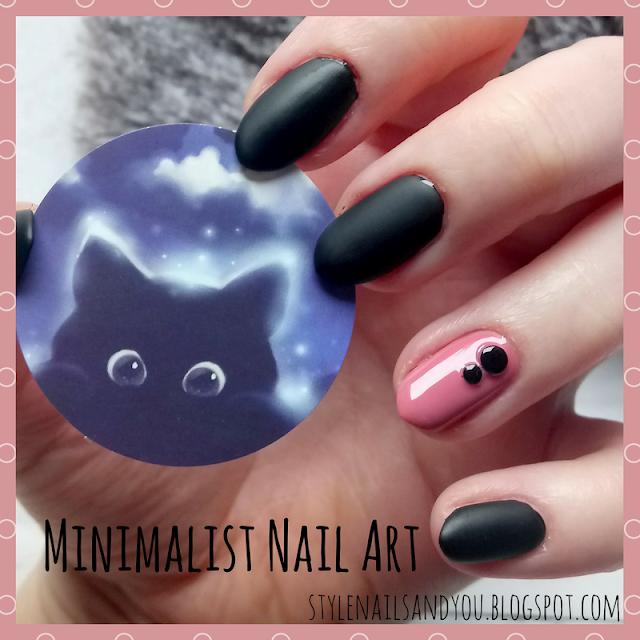 Minimalist Nail Art   Black Rivet Nail Studs Multi-size   Born Pretty Store Review