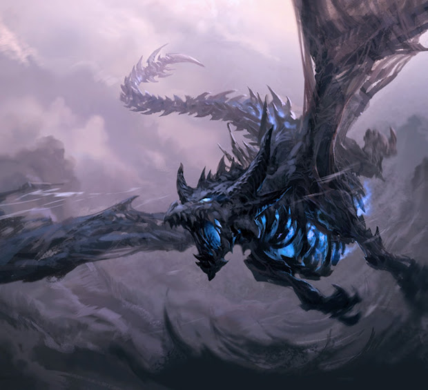 Warcraft Dragons Concept Art