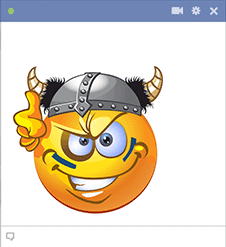 Viking Emoticon