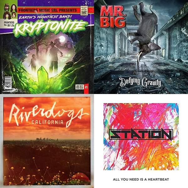 V.A. - 0dayrox Advanced Releases July 2017 - Vol.4 Mr Big, Kryptonite Hinder Riverdogs