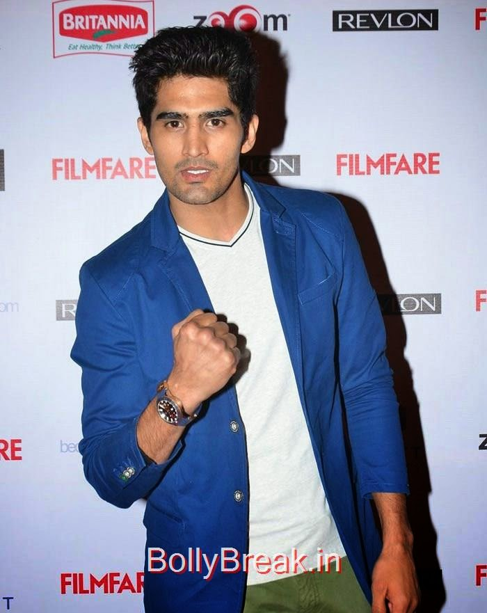 Vijender Singh, 60th Britannia Filmfare Awards pre-awards Party 2015 Red Carpet Pics