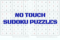No Touch Sudoku Variation Puzzles