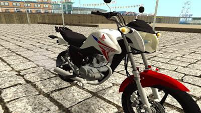 HONDA CG TITAN 150 EDIT para GTA San Andreas , GTA SA , gta san