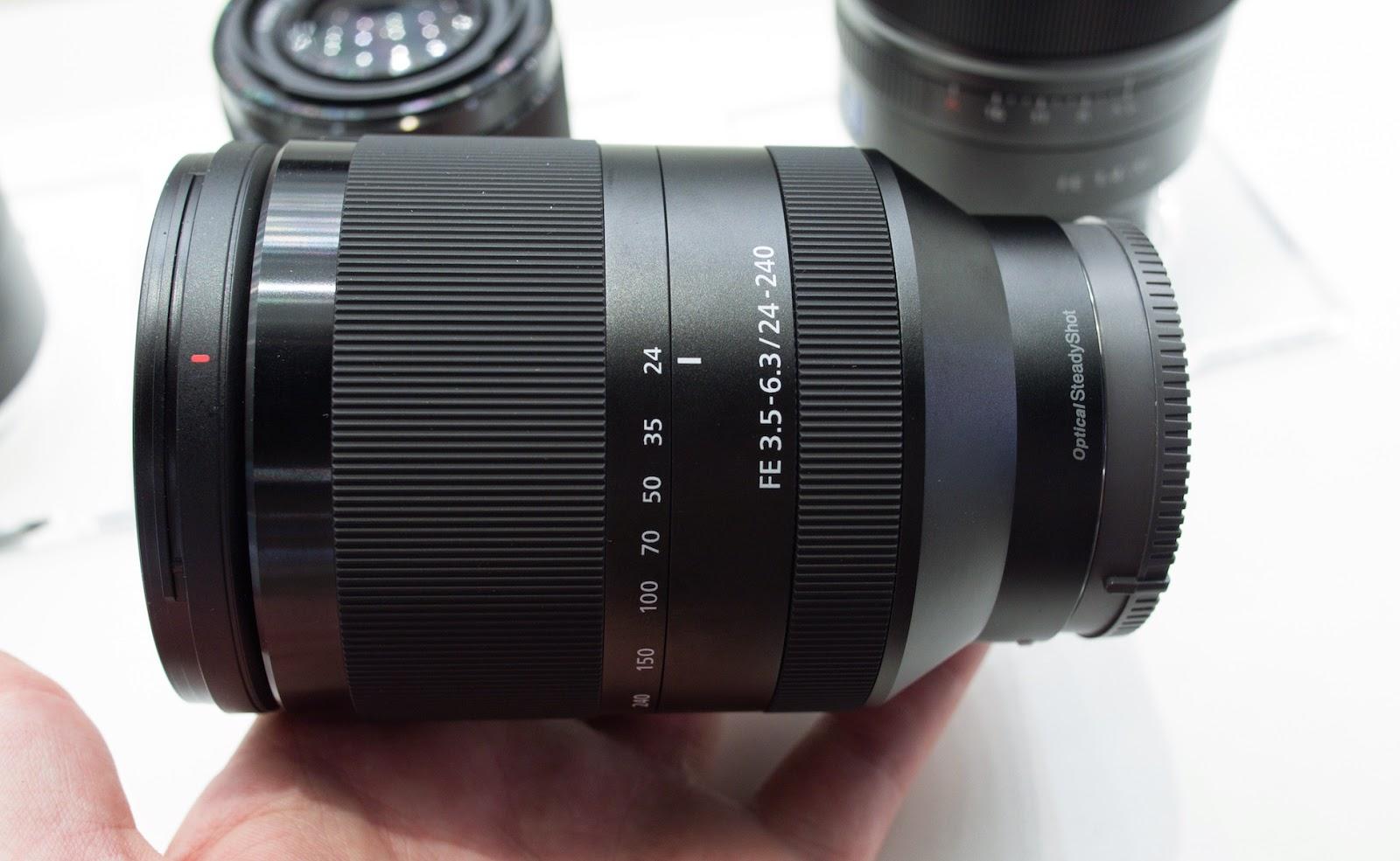 Sony E Mount Lens Roadmap Photokina 2014 Update Alpha A7rii Body Only Sel1635z September