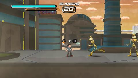 Astro Boy: The Video Game screenshot 3