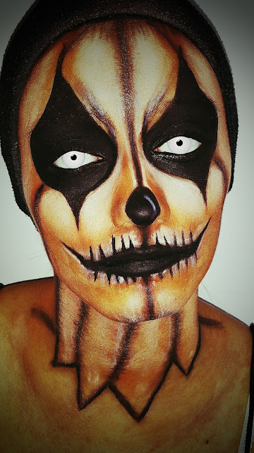 makeup-halloween-pumpkin-clown-monday-shadow-challenge-blog-beaute-avignon