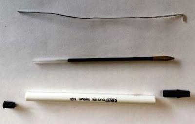 pulpen bekas untuk mainan terbang