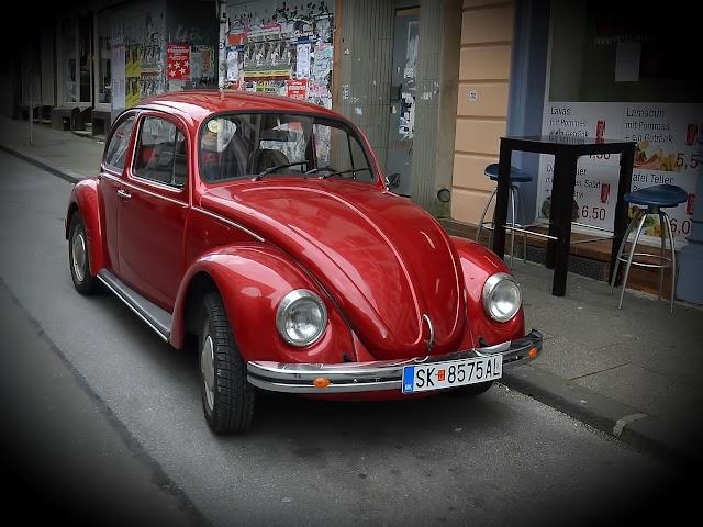 Bild des Tages - Alter Käfer in Skopje