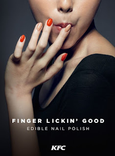 KFC Edible Chicken Nail Polish