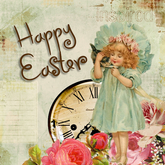 Happy Easter Inspired Greeting Card