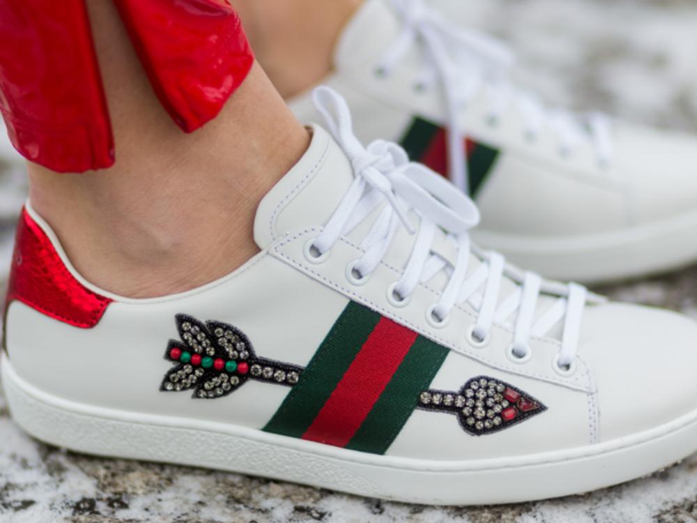 Fashion-Trend 2017: Wir wollen jetzt Bling Bling-Sneaker