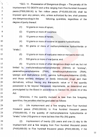 The Death Penalty bill otherwise known as the House Bill 01 has been approved in the House of Representative  and is only awaiting for the decision of the plenary to be implemented. What are the provisions of the Death Penalty Bill and what crimes can get you executed?   House Bill 01 is consist of 23 pages that contains full texts of the entire bill duly approved by the majority of Congressmen of the 17th Congress of the House of Representatives with vote of 12 in favor, 6 against and 1 who abstained to vote.                                    All the images are from the official website of the House of Representatives.                               What are the crimes punishable by death according to the Death Penalty Bill?    ©2016 THOUGHTSKOTO