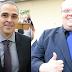 Posse dos suplentes Jamal Fares (PSL) e Cristiano Niero (PV) em Maringá termina em pizza